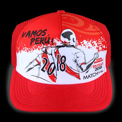 Gorro Peru mundial Rusia 2018 MSGP08