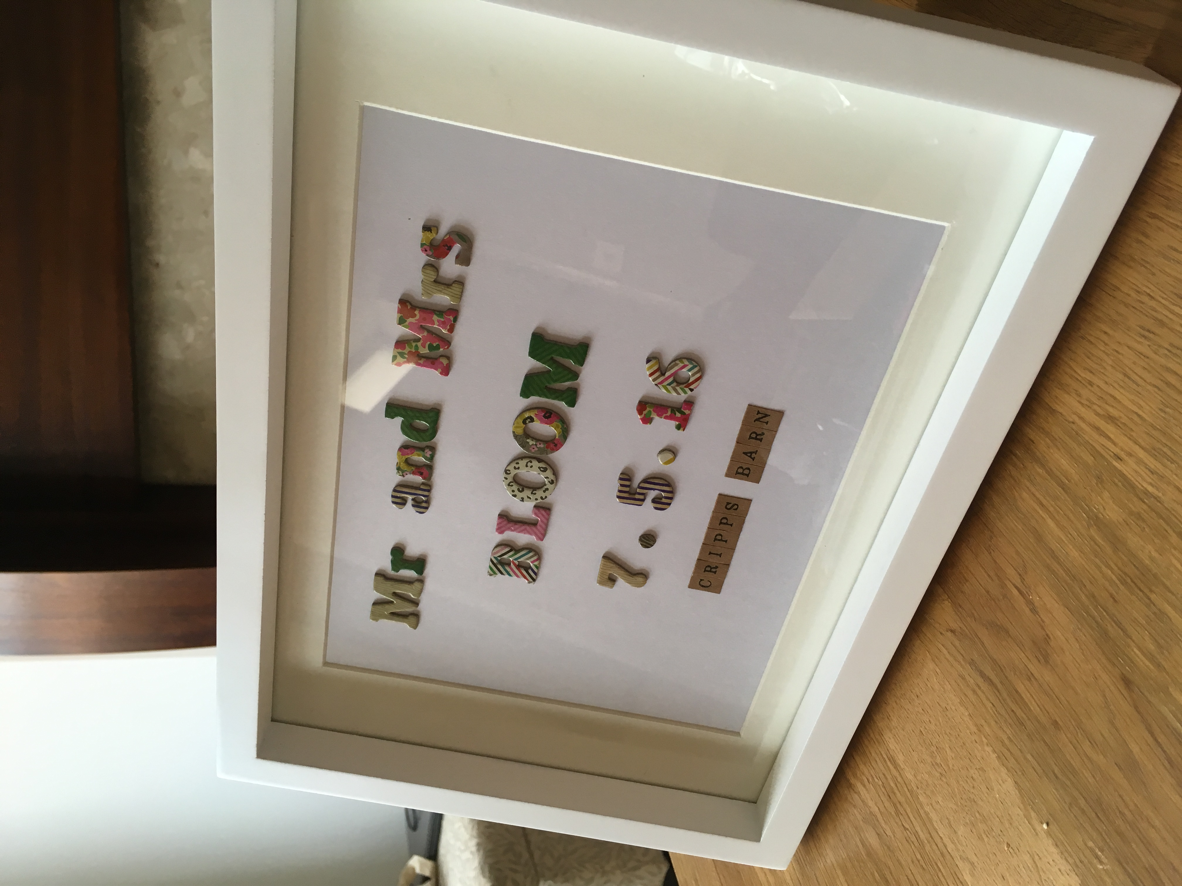 Personalised Wedding Presents