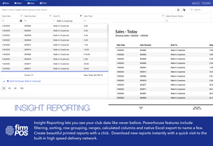 Insight Reporting - Included with FirmPOS 2020