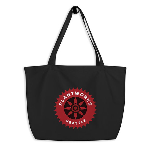 Plantworks Seattle Large organic tote bag