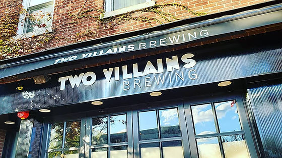 Two Villains Brewery. Nyack. Restaurant. Bar.