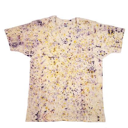 Naturally Dyed T-shirt - XL - Botanical Bundle Dye - Back Porch Collection #3