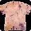Thumbnail: Naturally Bundle Dyed Pink Vintage T-shirt - Medium - Back Porch Collection #2