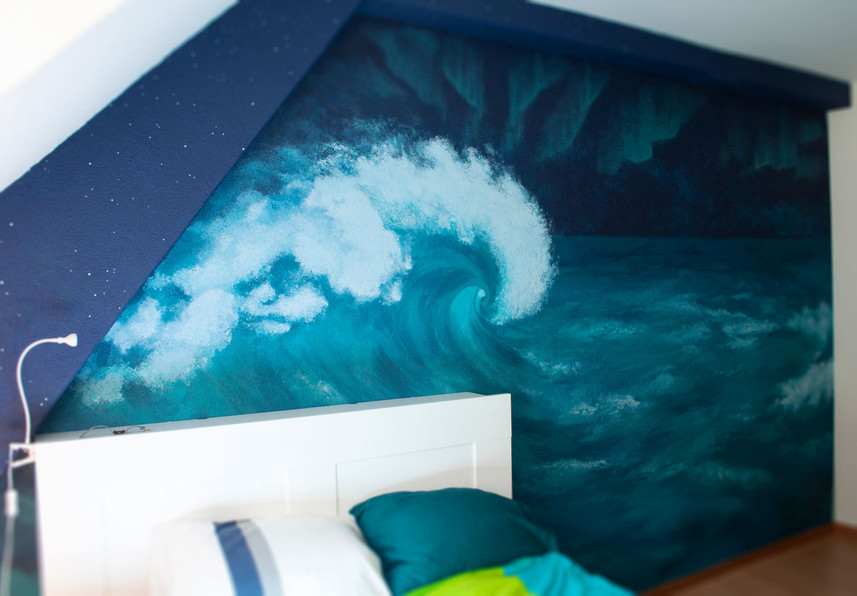 Wandbild-Meer-Nordlichter-Welle-Chantal-