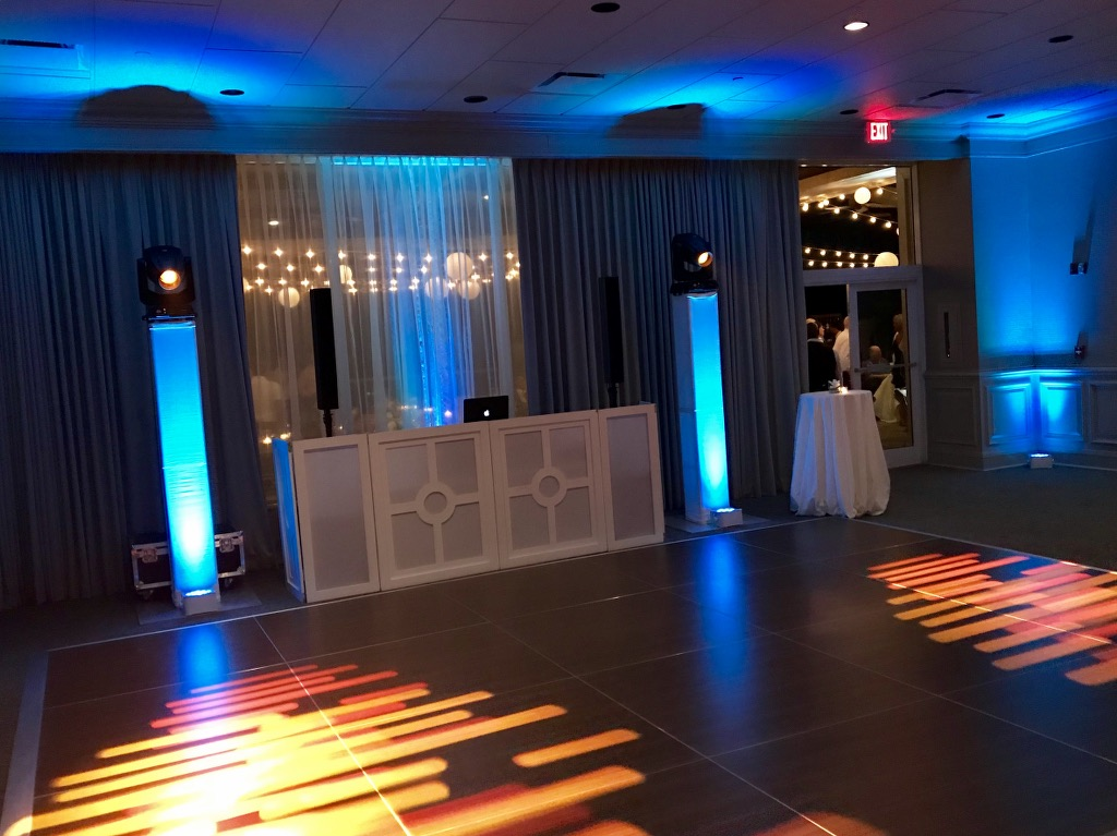 DJ setup | Moving head lighting | Marco Beach Resort