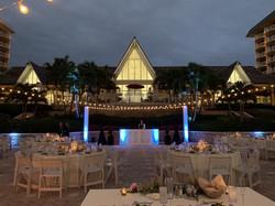 Wedding Lighting and Entertainment | Tiki Terrace - JW Marco Island