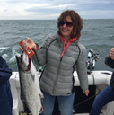 First and biggest salmon, Great job!