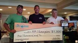 333 saugutuck champion prize check.JPG