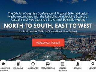 从北到南,从东到西——第六届亚洲及大洋洲运动与康复医学大会预告