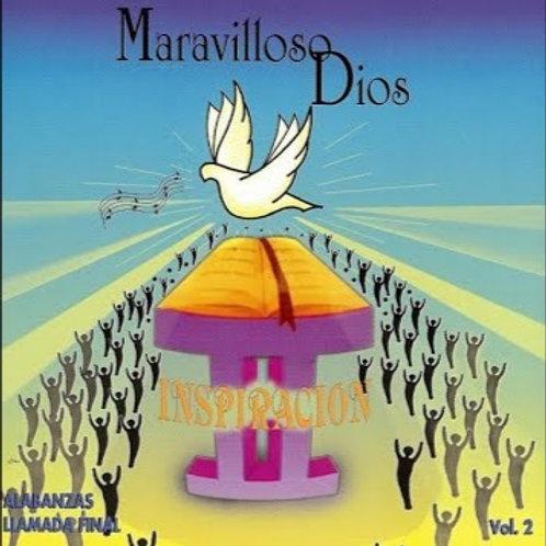 CD Inspiración Vol.2 - Maravilloso Dios