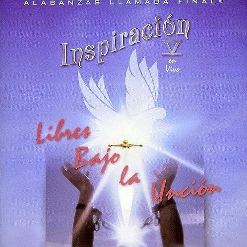 CD Inspiración Vol.5 - Libre bajo la Uncion