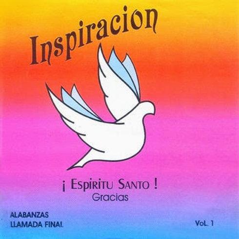 CD Inspiración Vol.1 - Espíritu Santo Gracias