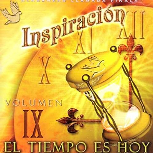 CD Inspiración Vol.9 - El tiempo es hoy