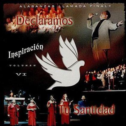 CD Inspiración Vol.6 - Declaramos Tu Santidad