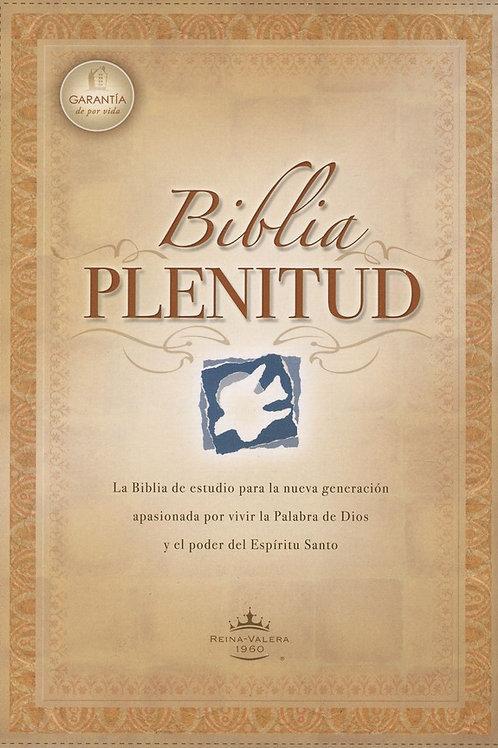 Biblia Plenitud, RVR 1960 - bonded leather, black (index)