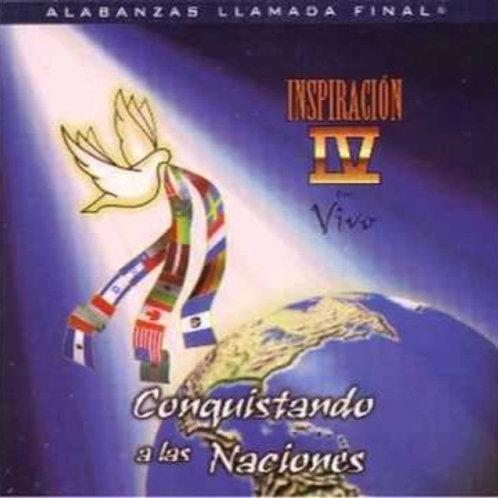 CD Inspiración Vol.4 - Conquistando a las naciones