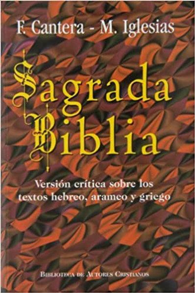 Biblia F. Cantera - M. Iglesias