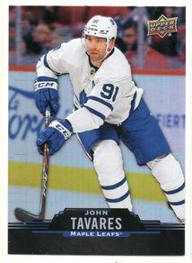 John Tavares Upper Deck Tims 2020 91 Fro