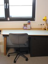Schreibtisch in L