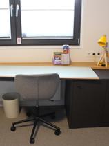 ...und nun der Schreibtisch in XL