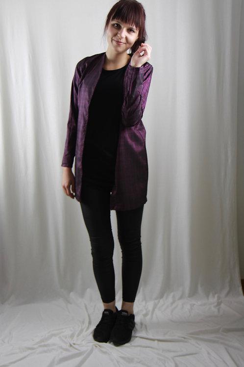 Jäckli violett gestreift lang