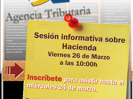 Hacienda: Información