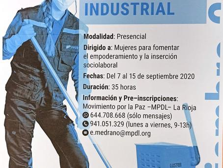 Curso de limpieza industrial
