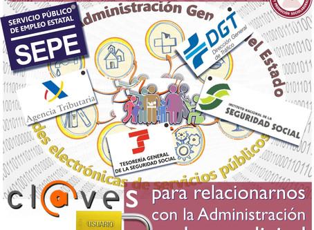 Cl@ves para relacionarnos con la Administración en la era digital
