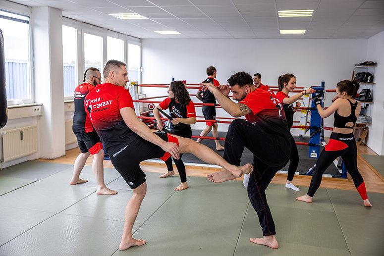 MMA-Combat Seminare in Wing Combat