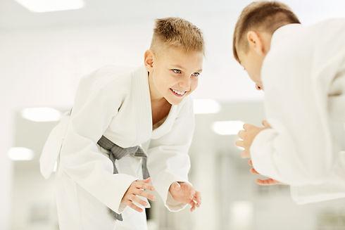 Kampfsport und Selbstverteidigung  mit Kinder