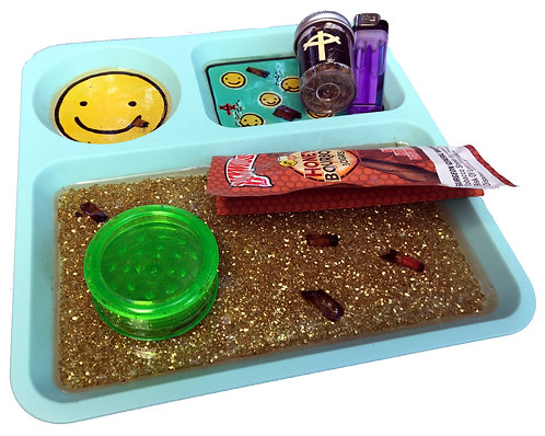 Smiley Rolling Tray