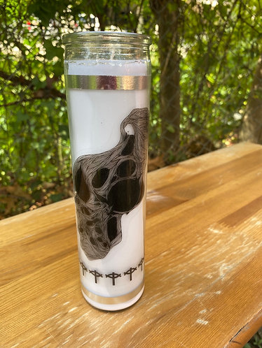 Life Breathes Death Candle
