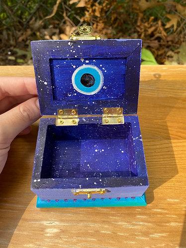 Evil eye stash box