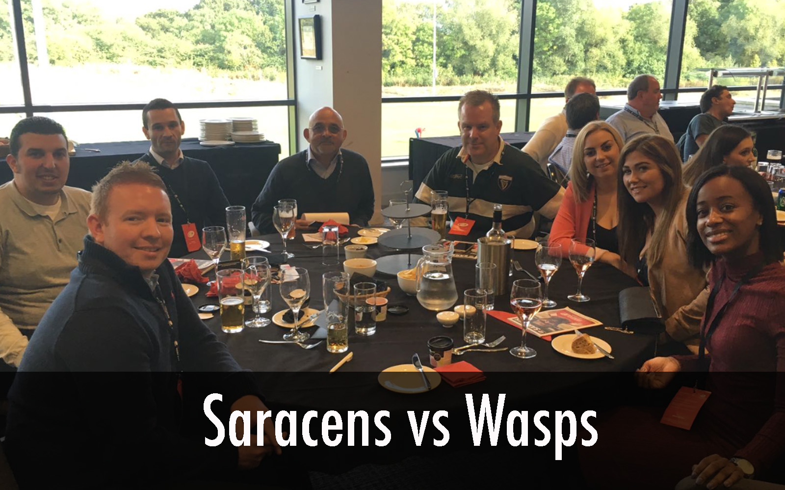 Saracens vs wasps 1905