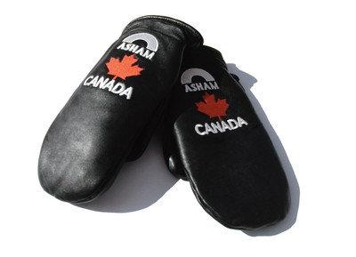 CANADA LAMBSKIN MITTS