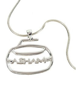 ASHAM CURLING ROCK PENDANT