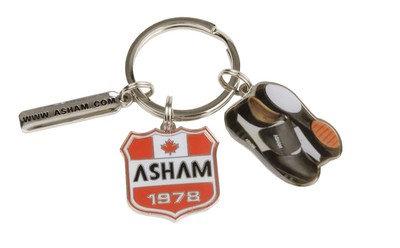 ASHAM SLAM KEYCHAIN