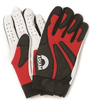 EST LEATHER GLOVE RED