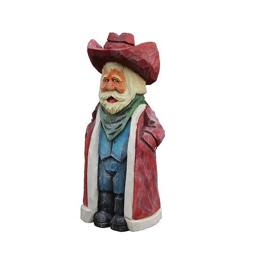 Cowboy Santa with Vest
