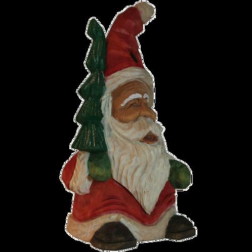 Elf Santa with Tree