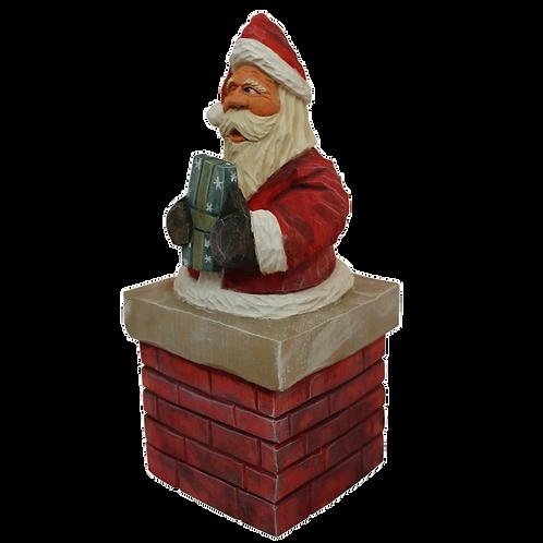 Chimney Santa