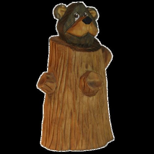 Cub in a Stump
