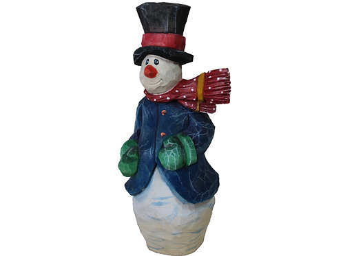 Windy Snowman