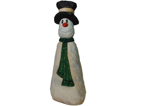 Bowling Pin Snowman