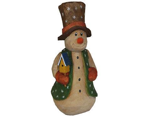 Snowman with Vest