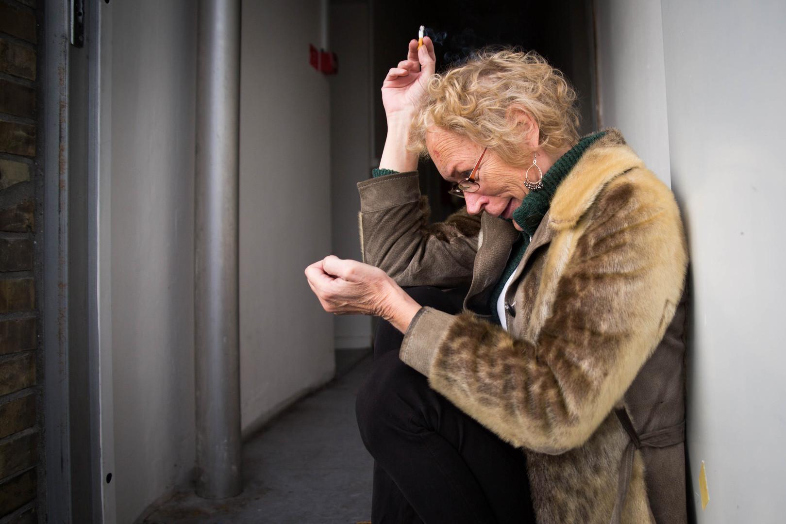 Malene - a transgender rights activist - Copenhagen