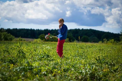 bean fields in Finland