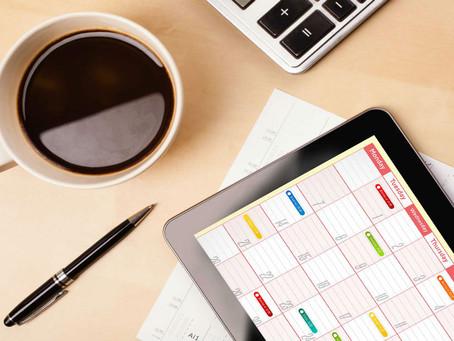 Organizar agenda de trabalho: controle suas atividades agora!