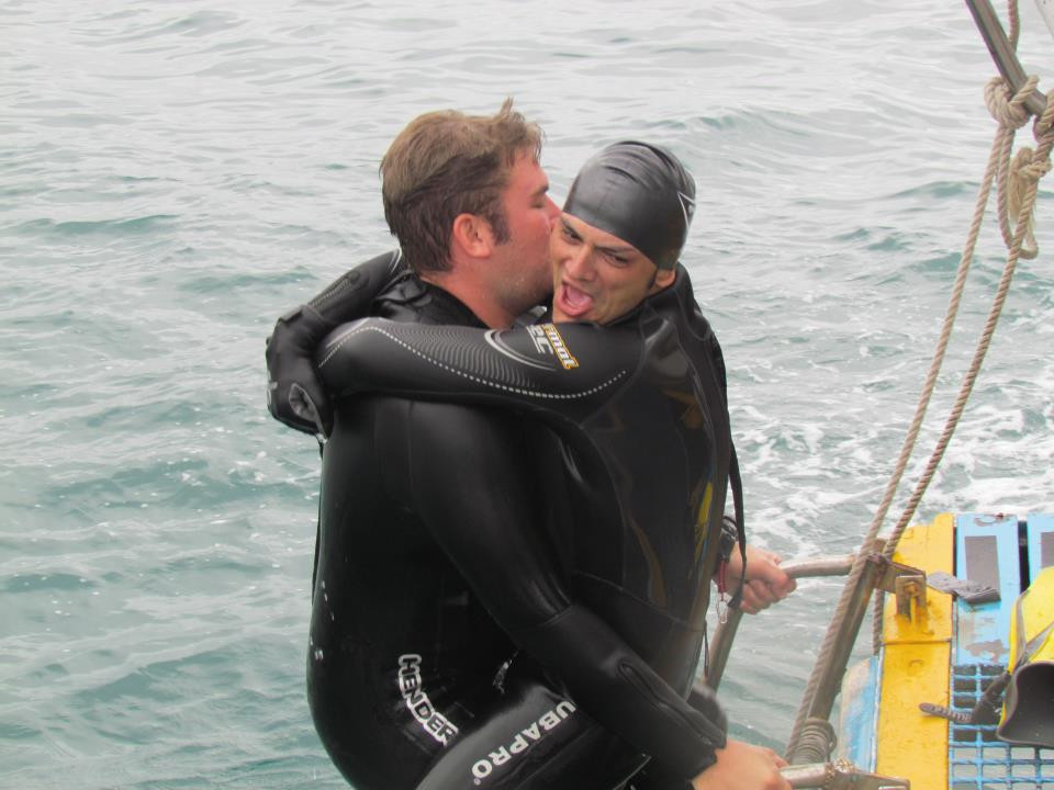 Assisting with a PADI Rescue Diver Course