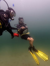Learn to become a PADI Pro and teach people to blow bubbles under water